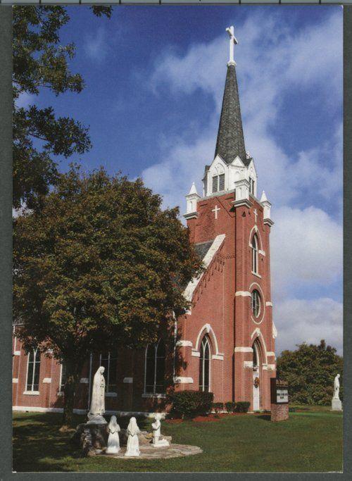 St Bridget S Catholic Church In Scammon Kansas Kansas