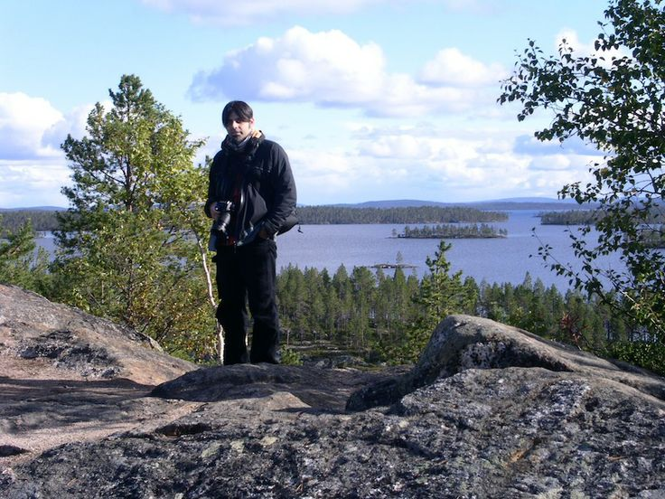 In Inari Lake - Finland.