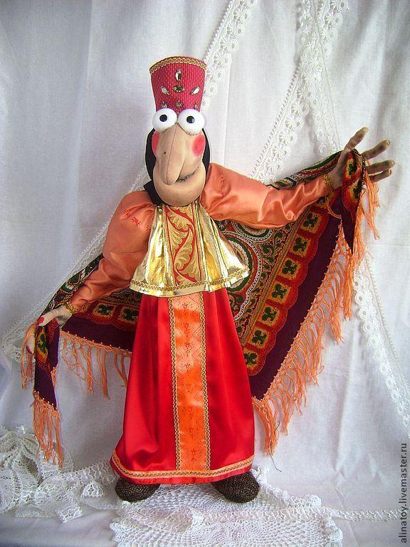 Баба Яга, 73см рост, из м/ф Домовенок Кузя - баба яга,баба-яга,купить бабу ягу