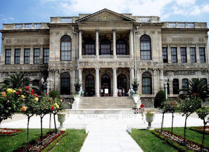 Dolmabahce, Istanbul, Turchia - Facade of the Selamlik