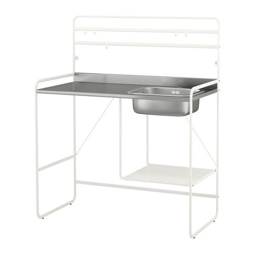 SUNNERSTA Mini-kitchen IKEA Adjustable feet make it possible to compensate for any irregularities in the floor.