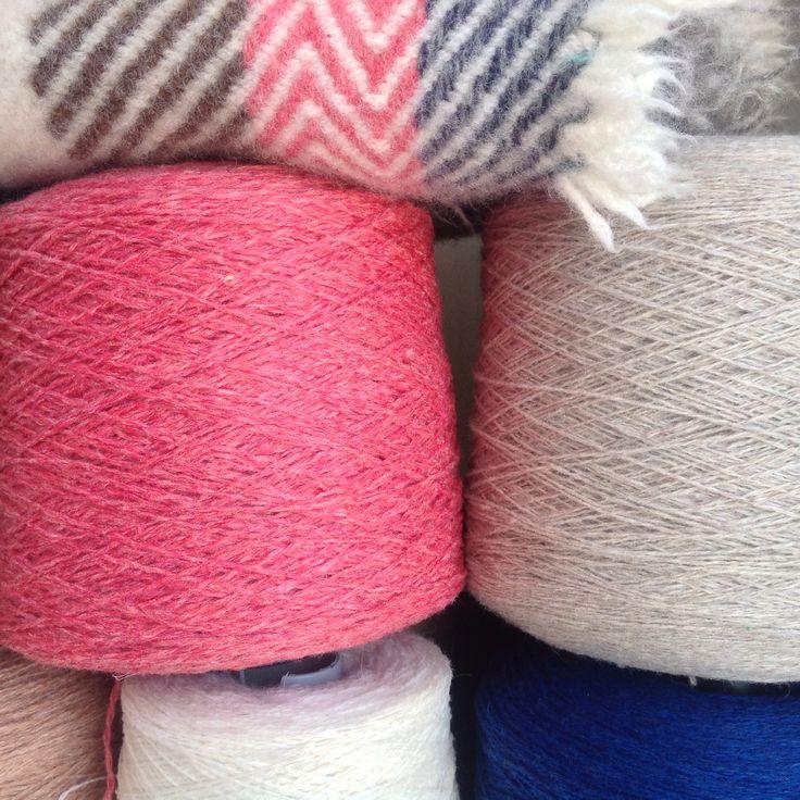 TEXTILMANUFAKTUR CHRISTINA KLESSMANN ••• Wool Yarn from Scotland