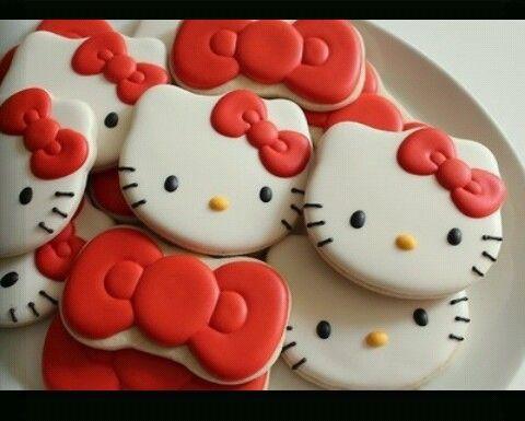 cookies, hello kitty