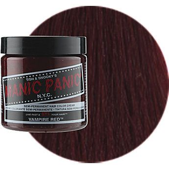 Manic Panic Semi-Permanent Hair Color Cream--- virgin snow. is a white toner/ mixer. going waaaay lighter with my hair