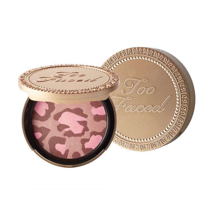 Pink Leopard Blushing Bronzer - Too Faced