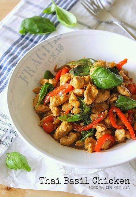 Food Wanderings in Asia: Thai Basil Chicken