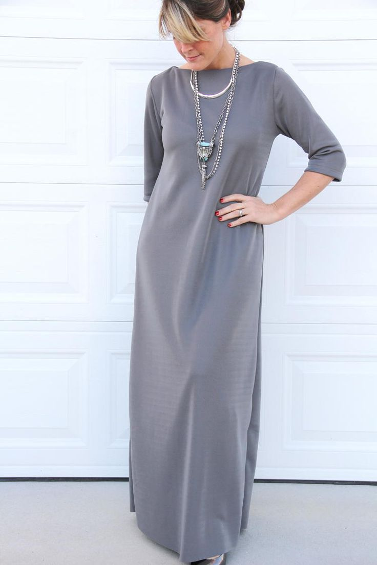 Easy 2-Hour Maxi Dress | AllFreeSewing.com