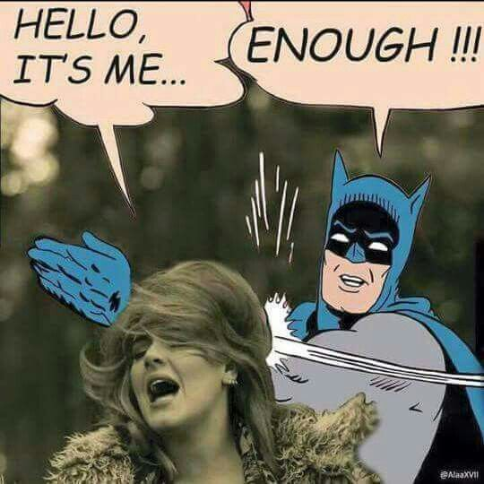 I love adele but this is hilarious