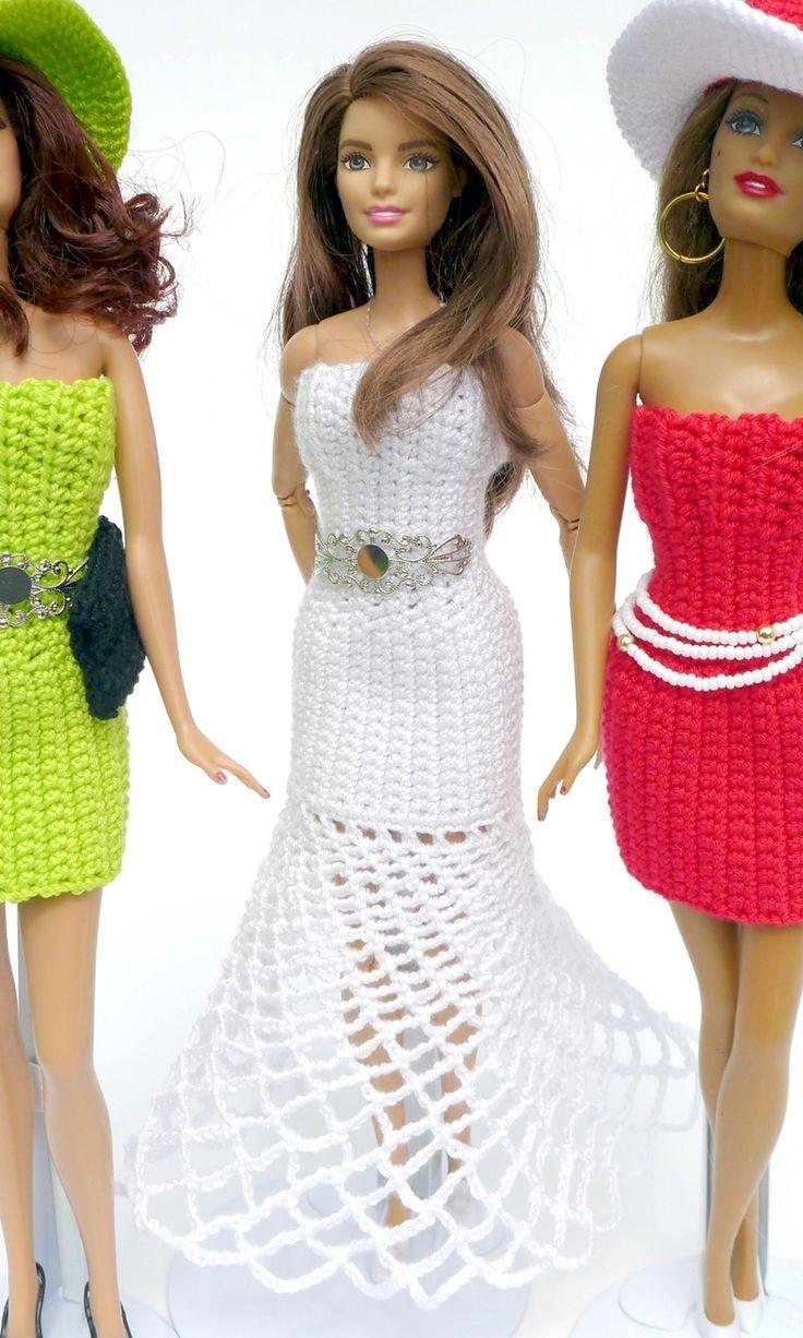 Kostenlose Hkelanleitung Fr Barbie Kleid Und Hut Doll Stuff