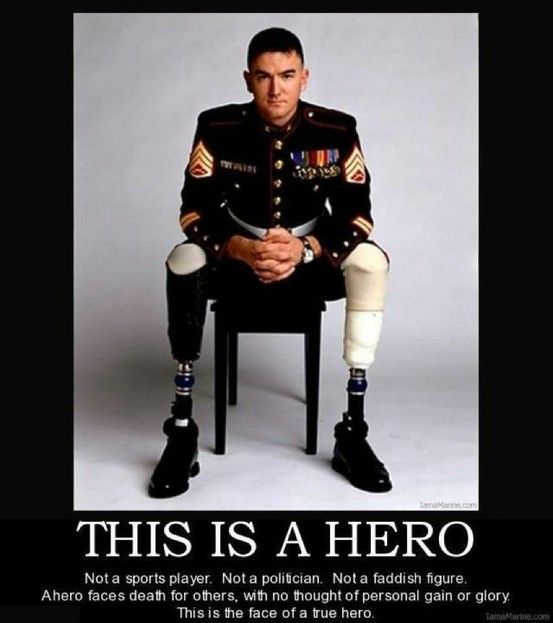 """Real Heroes So true! I'm tired of false heroes and """"role-models"""". Reality (right) tv. Kardashians and all the other idiots I never hear the end of. Are we really that afraid of facing real life head to head in this society that we must divert ourselves with false beauty and fame? Scary."""