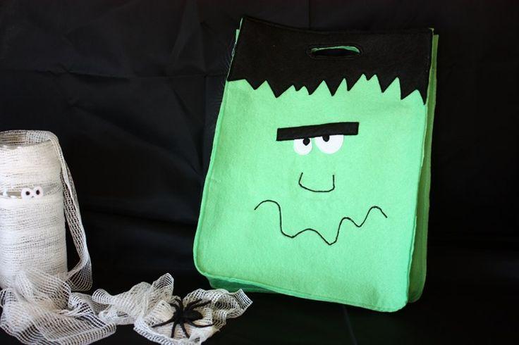 Frankenstein Halloween Bag  ---  Bolsa Frankestein Halloween
