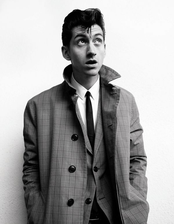 Alex Turner for Another Man S/S13