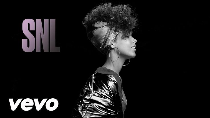 Alicia Keys - In Common (Live From SNL) - YouTube