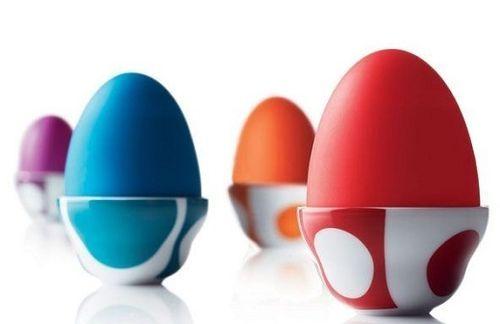 more modern egg cups