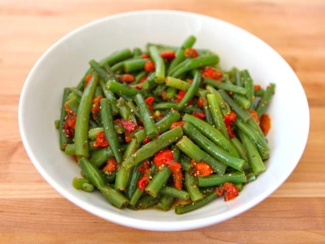 Green Bean Pepper Salad   Recipe