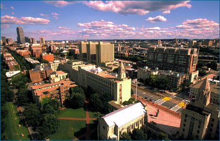 Boston University... love the city of Boston (though not the Red Sox) and has a lot of diversity.