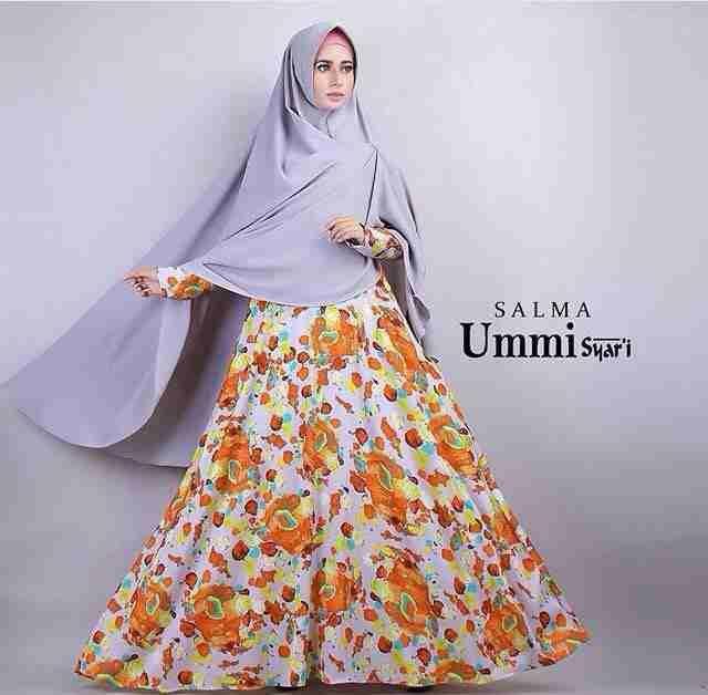 SALMA Set (IN-Eis)  Dress maxmara platinum berfuring  Reslting tangan  Busui