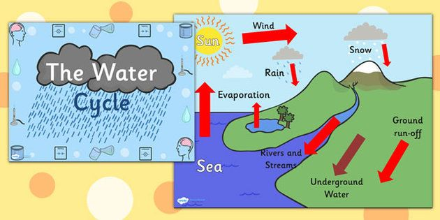 Water Cycle Diagram Powerpoint - water cycle, the water cycle ...