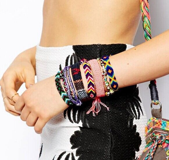 New fashion jewelry Bohemian style Weave charm friendship bracelet for women girl lovers' B3098 * You can get additional details at the image link.