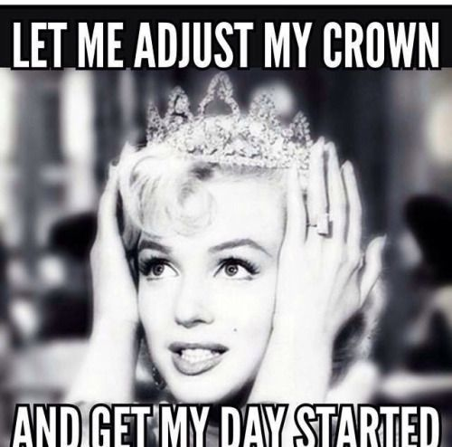 Haha my parents call me the princess for a reason . And I love Marilyn  www.thepageantplanet.com: