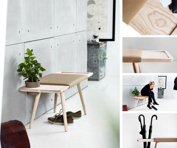 Bænk | NUR design | Maja Bøgh Vindbjerg