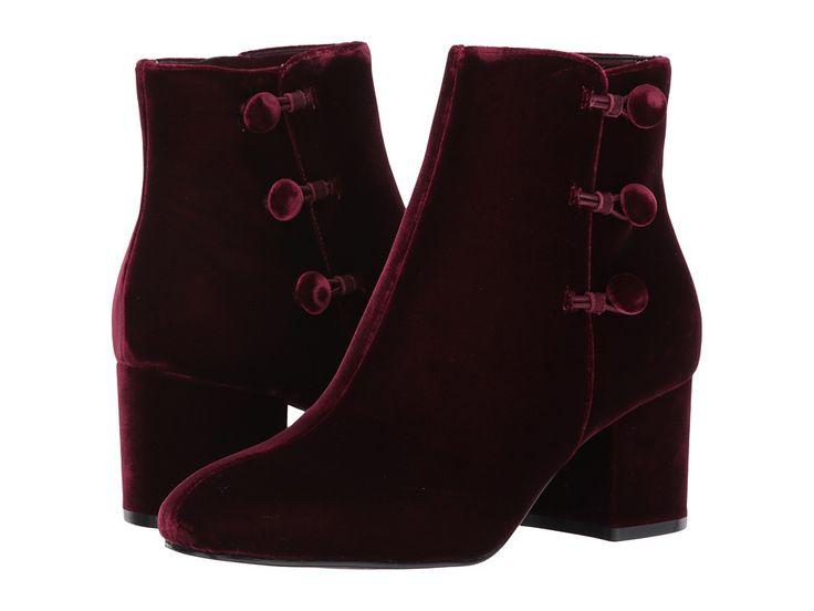 Ivanka Trump Parin 2 Women's Boots Dark Red Fabric/IP Velluto Master