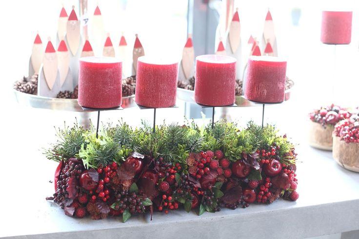 Weihnachtliche Gesteckideen aus dem Cash & Carry Markt Vosteen…