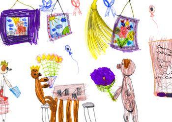 Significado de los dibujos de los niños