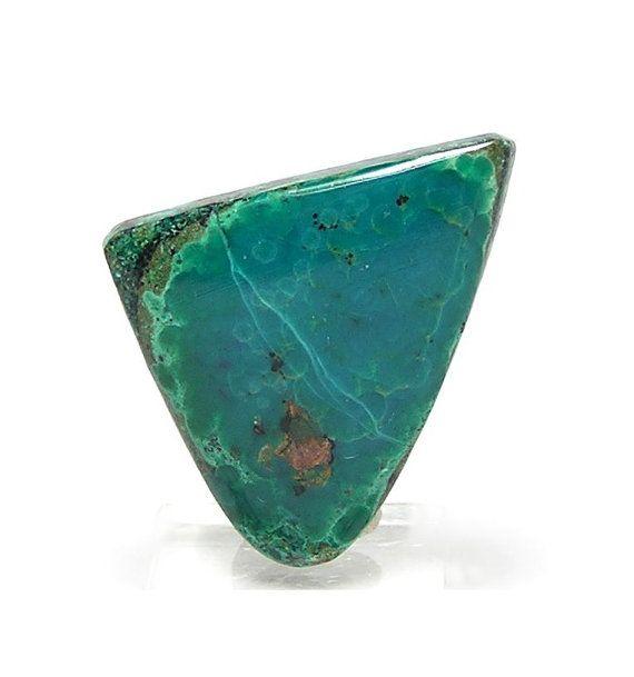 Chrysocolla Blue Green Gem Silica  Southwestern by FenderMinerals