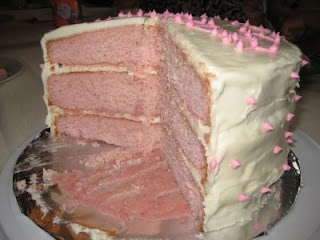 Pink Lady Cake - this was delicious. Kind of dense though. | Dessert ...