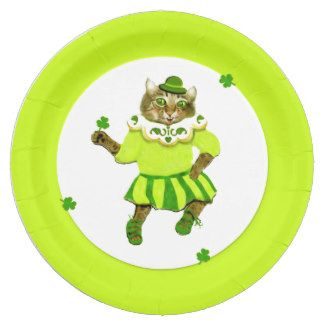 st patricks day party supplies 9 inch paper plate