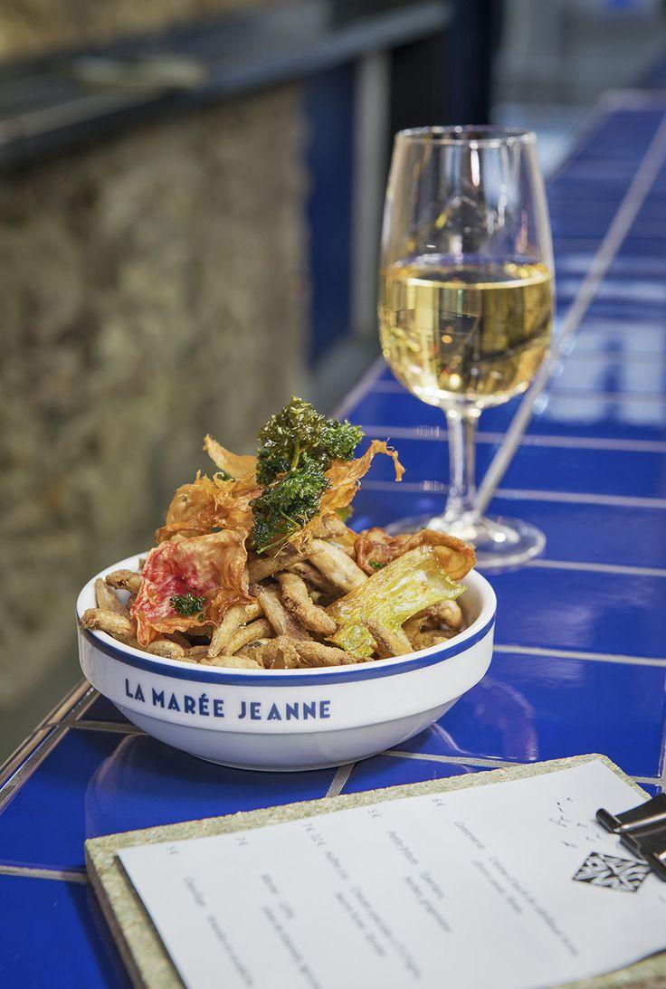 La Marée Jeanne ● daaamn! La Marée Jeanne 3 Rue Mandar, 75002 Paris, France