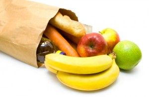 Shopping list for healthy eating