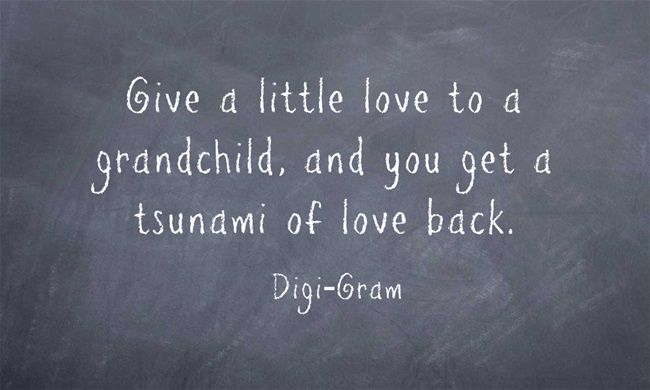 Create fabulous quote images with your grandchildren!