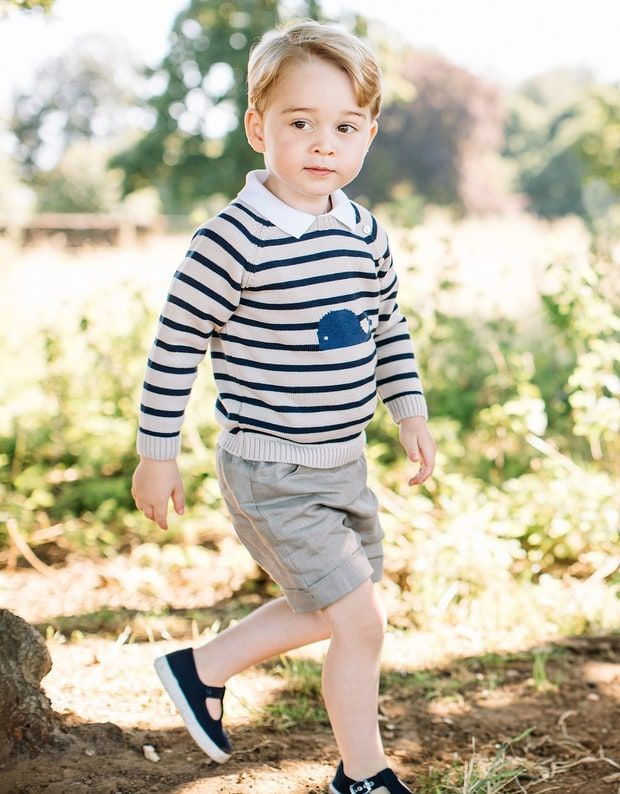 In Honor of Prince George's Birthday, 23 Photos from His First Three Years