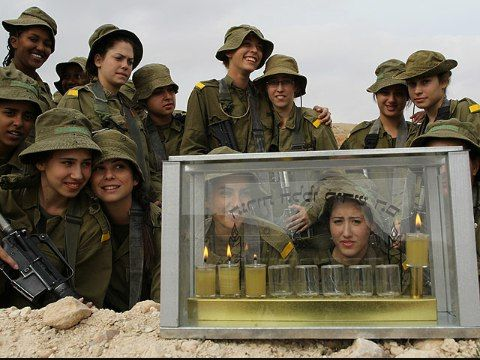 Hanukkah in the Israeli army