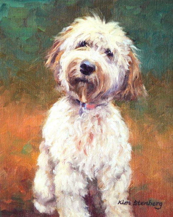 "Custom Pet Portrait Dog Painting Cat Pet 10 x 8"" Original Oil Painting by KimStenbergFineArt, $150.00"
