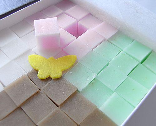 "Kashiwaya Mitsusada agar Japanese confectionery ""Ookini"""
