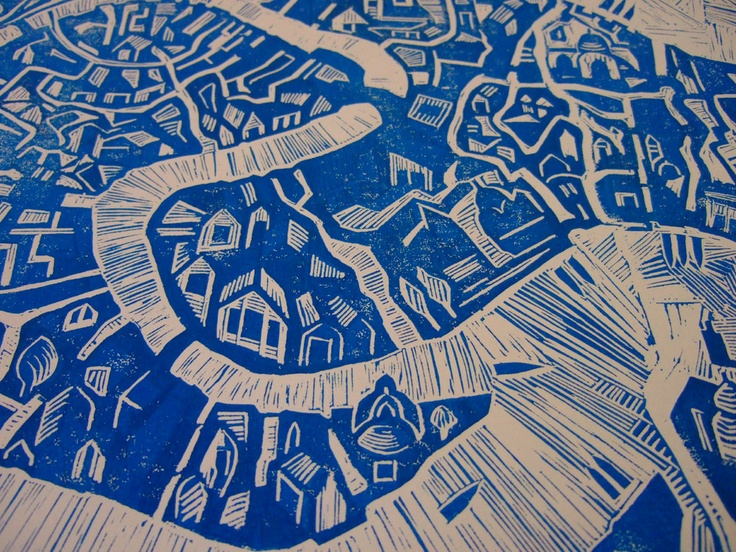 mapa veneza: Rcilustraçãomapa Ilustrado, Unique Linocut, Linocut Handprinted, Mapa Veneza, Blocks Ink, Illustrated Maps, Rc Ilustração Mapas Ilustrados, Handprinted Illustrated