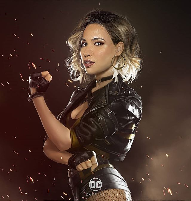 Datrinti Shows Us What Jurnee Smollett Bell Could Look Like As Black Canary In Birds Of Prey Geektyrant Black Canary Jurnee Smollett Birds Of Prey