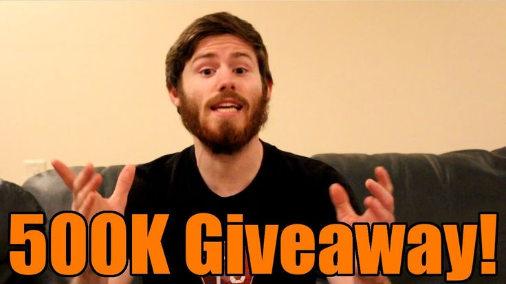 Giving Away an XBOX ONE and More! 500,000 Subscriber Giveaway!