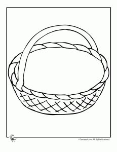 Printable May Day Basket (from Woo Jr. Kids Activities Network)