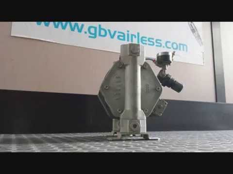 Pompe a membrana Airless - YouTube