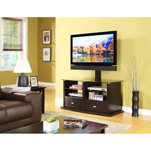 """Whalen TV Stand with Swinging Mount, for TVs up to 56"""""""