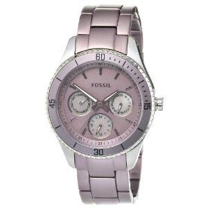 Fossil Womens Es3038 Aluminum Stainless