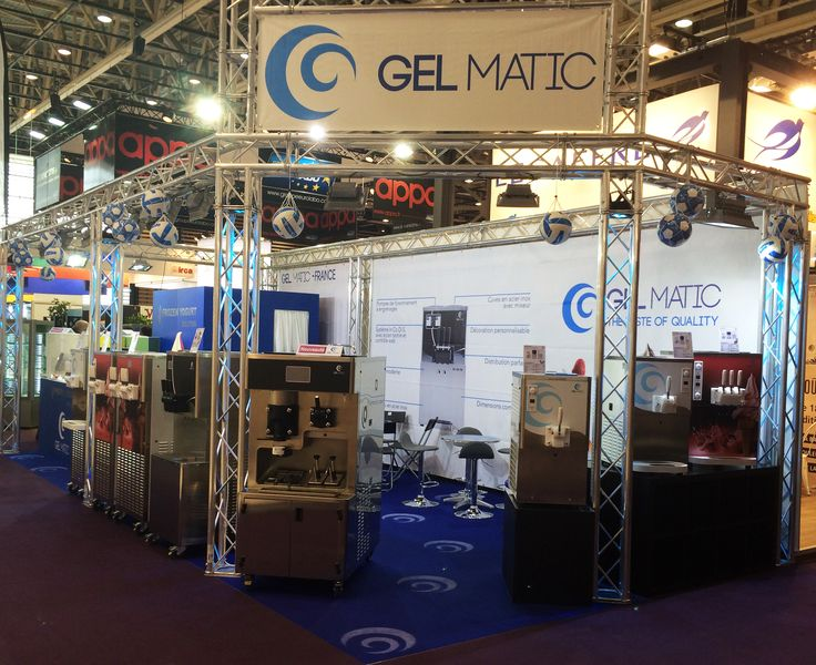 Our booth at SIRHA 2015, in Lyon.