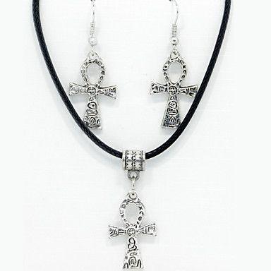 cruz animais de pingente de prata&conjunto brincos de jóias de 4565890 2016 por €11.39