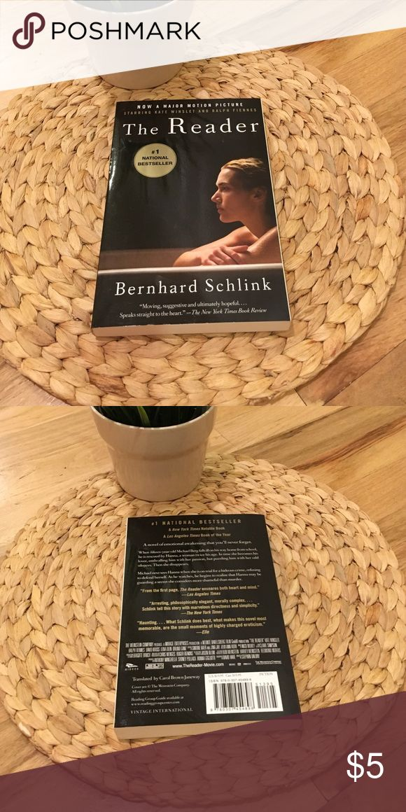 The Reader by Bernhard Schlink Read once and in great shape! Other