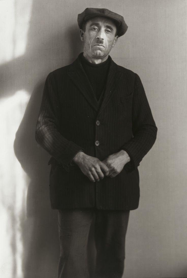 August Sander. Unemployed Worker. 1926
