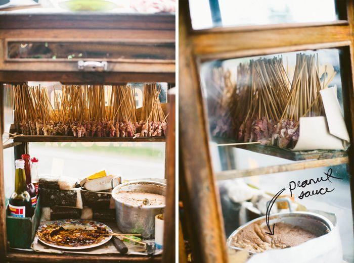 Ubud's Street Food ---> satee